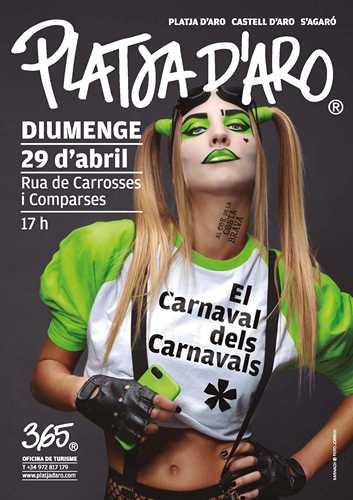 Карнавал карнавалов, Плайя де Аро