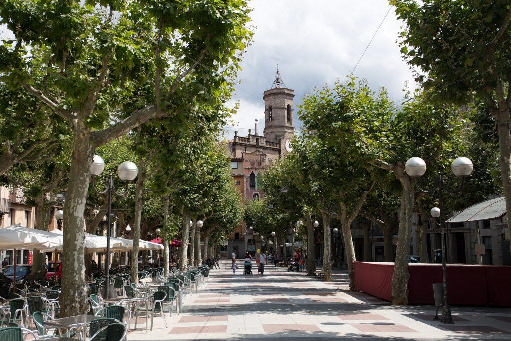 Olot is the center of the volcanic province of La Garrotxa, Girona, Catalonia
