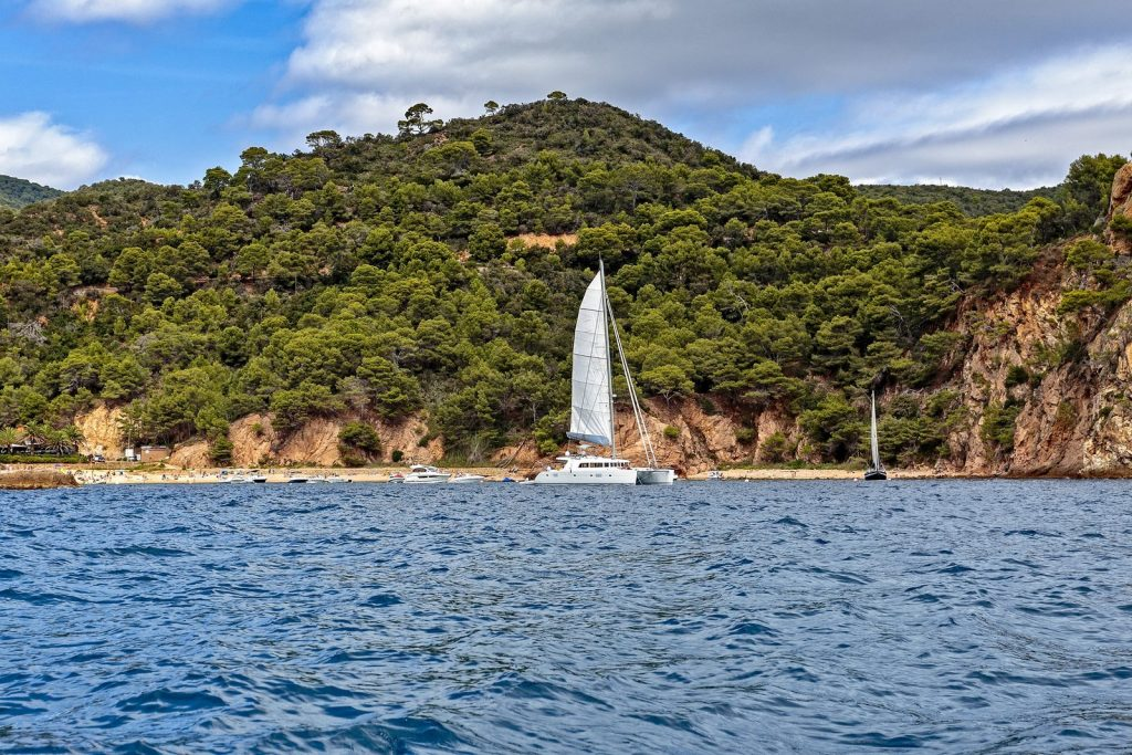 Costa Brava, boat trip from Tossa de Mar
