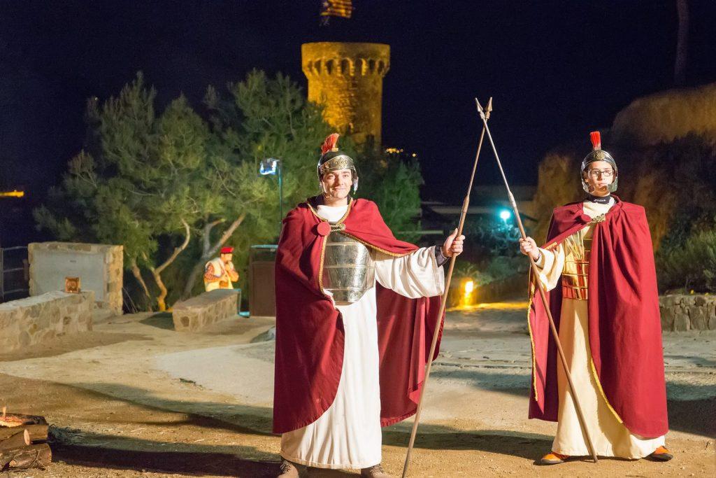 Live nativity scenes in Tossa de Mar