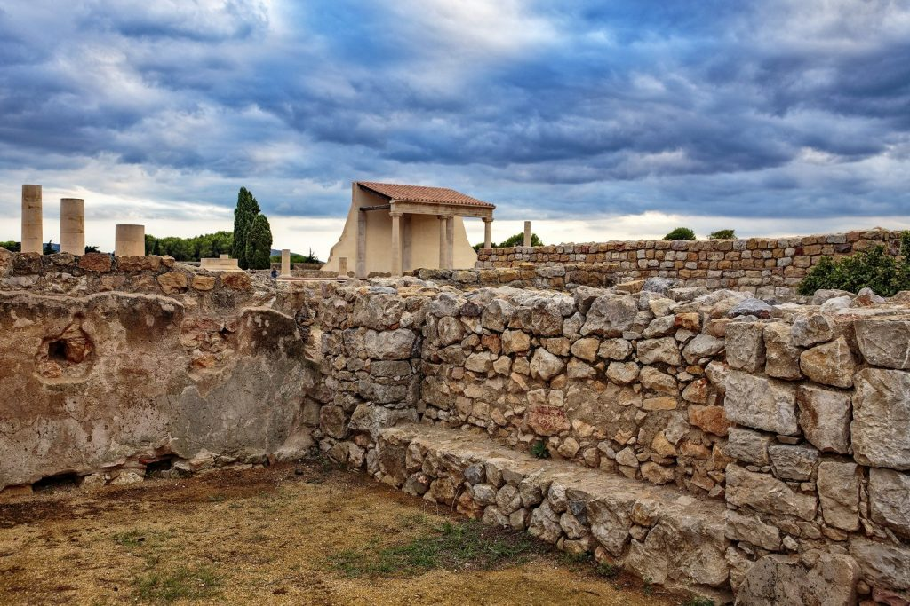 Empuries is an ancient Greco-Roman city by the sea.