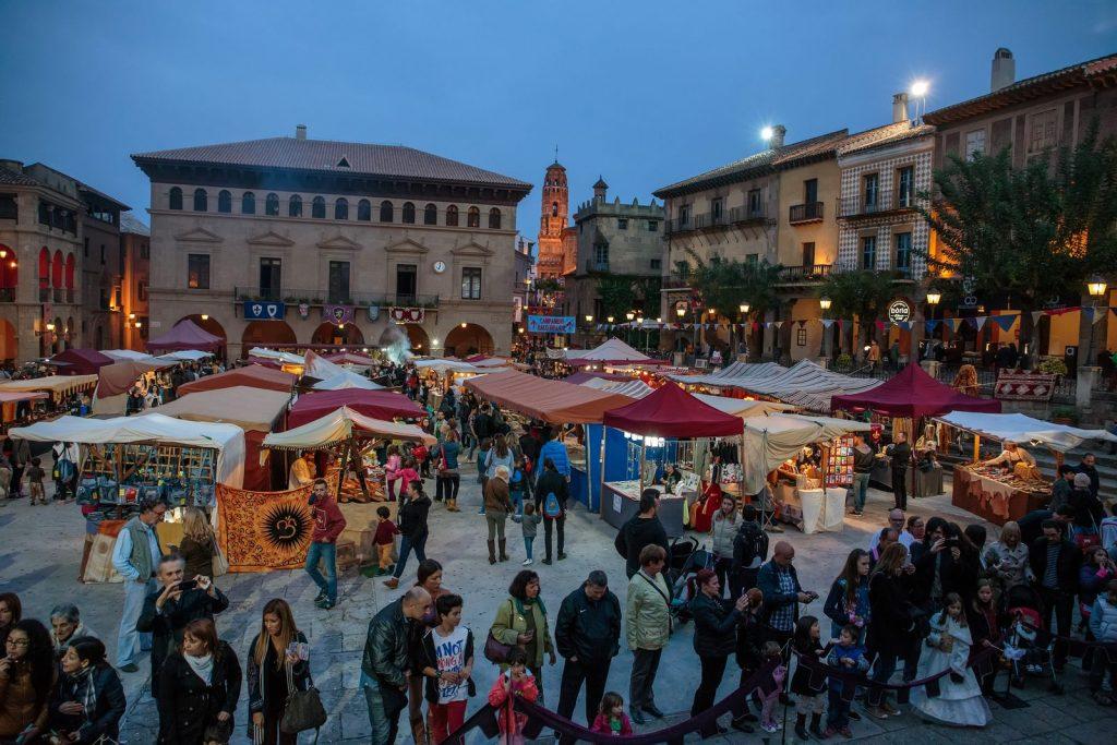 Medieval Fair 2015 in the Spanish Village, Barcelona