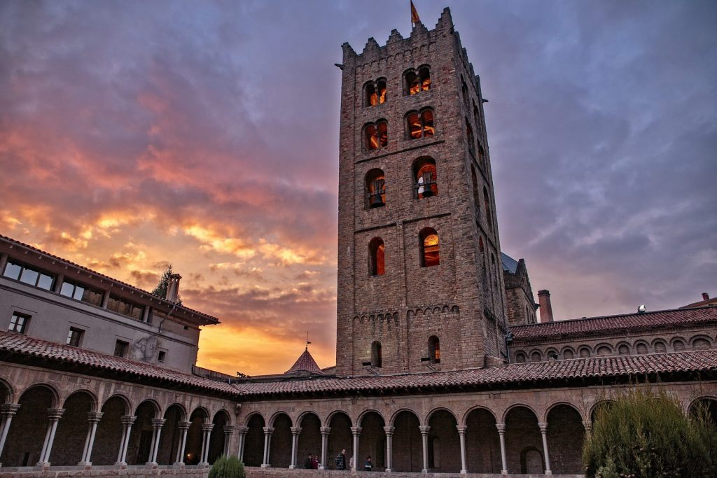 Ripoll is an old town in the north of Catalonia.