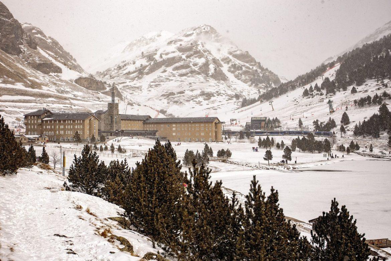 Валь де Нурия зимой
