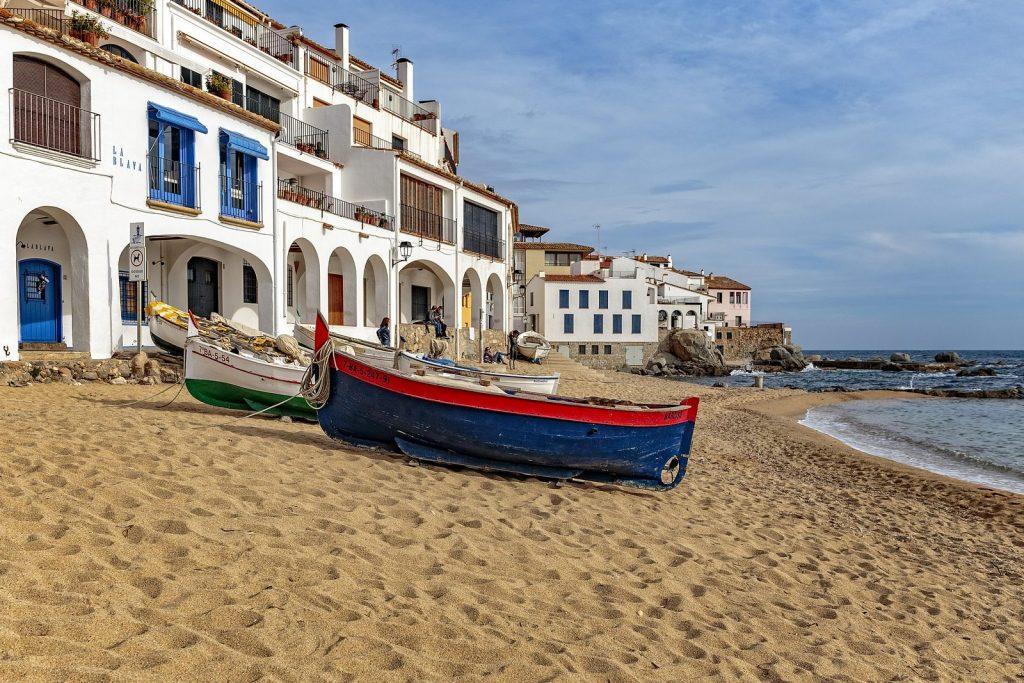 The coast of Calella de Palafrugell