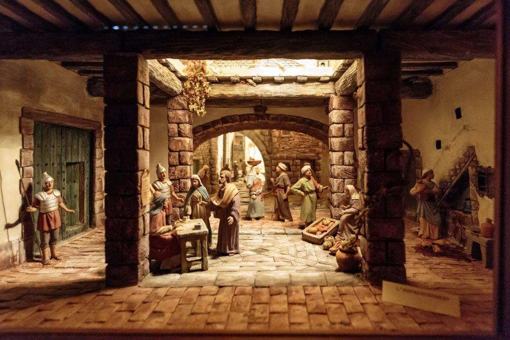 Nativity miniatures in the monastery of Santa Maria de Solius