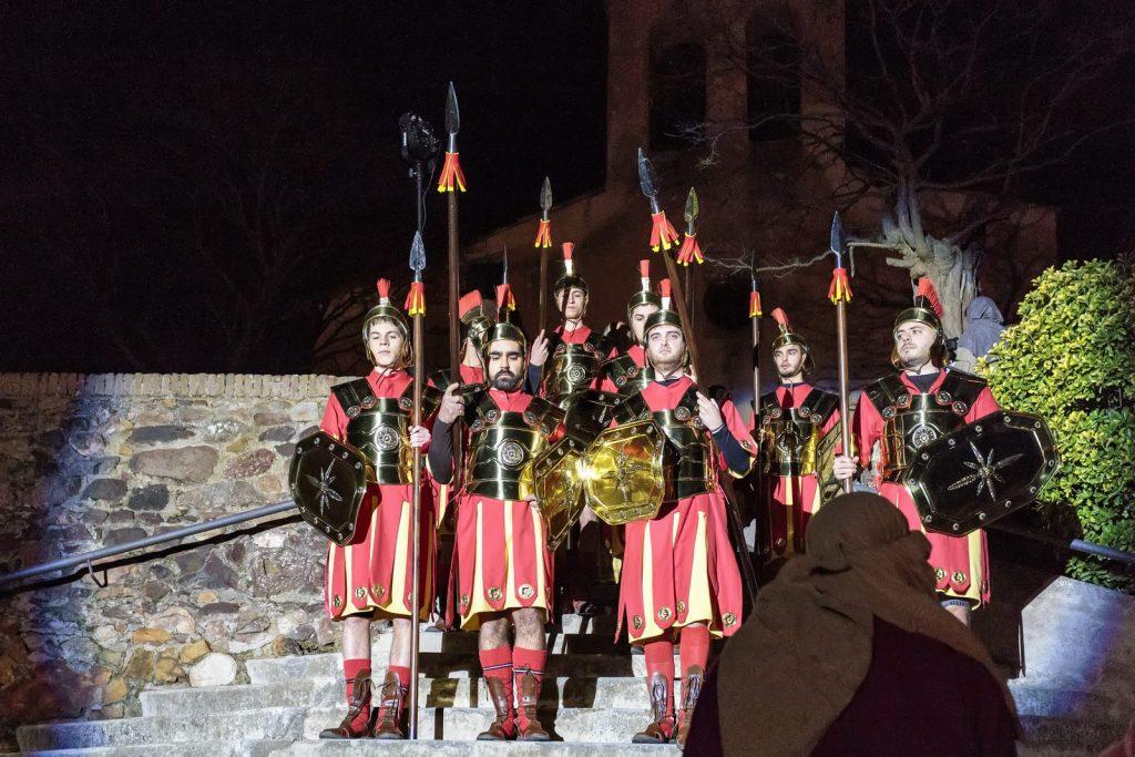Рождественское представление в Бруньола
