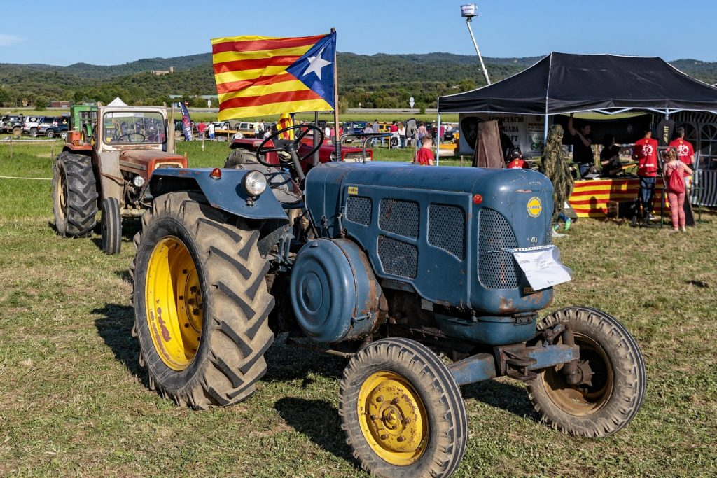 Tractor drivers festival in Vidreres 2017