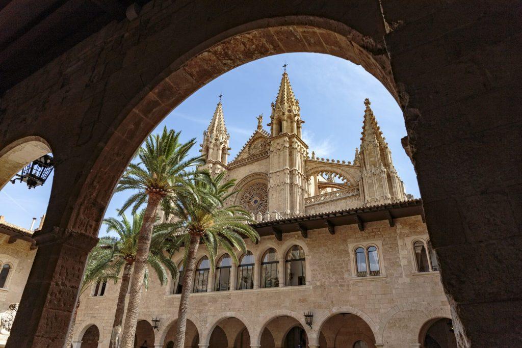 Cathedral and Palace of Almudaina, Palma de Mallorca