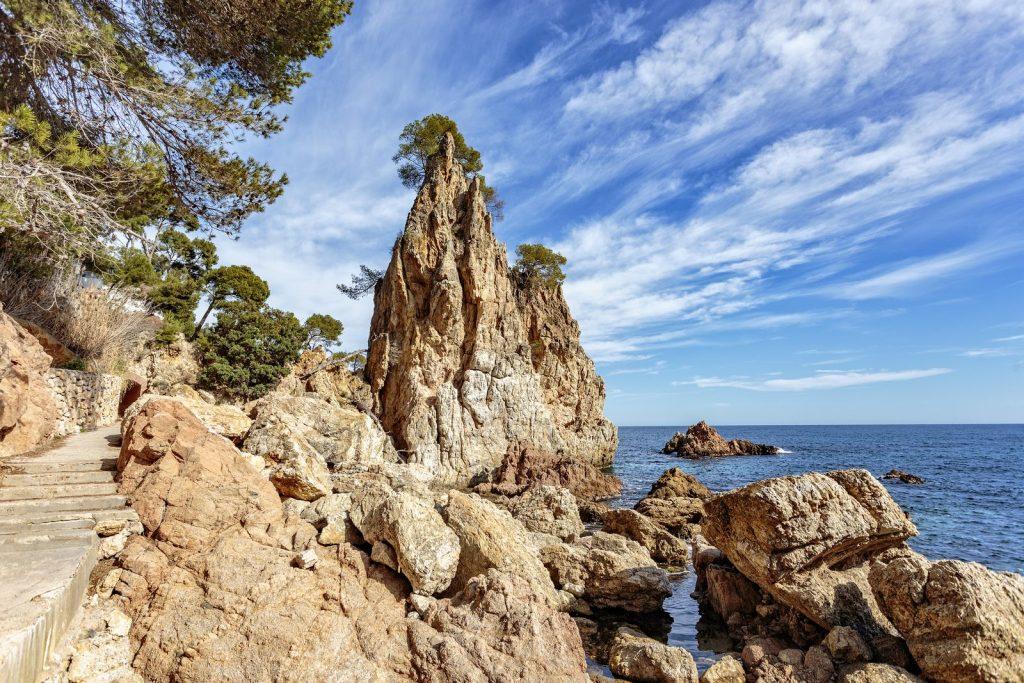 Прогулка вдоль побережья, пляж Platja el Golfet - Калелья де Палафружель