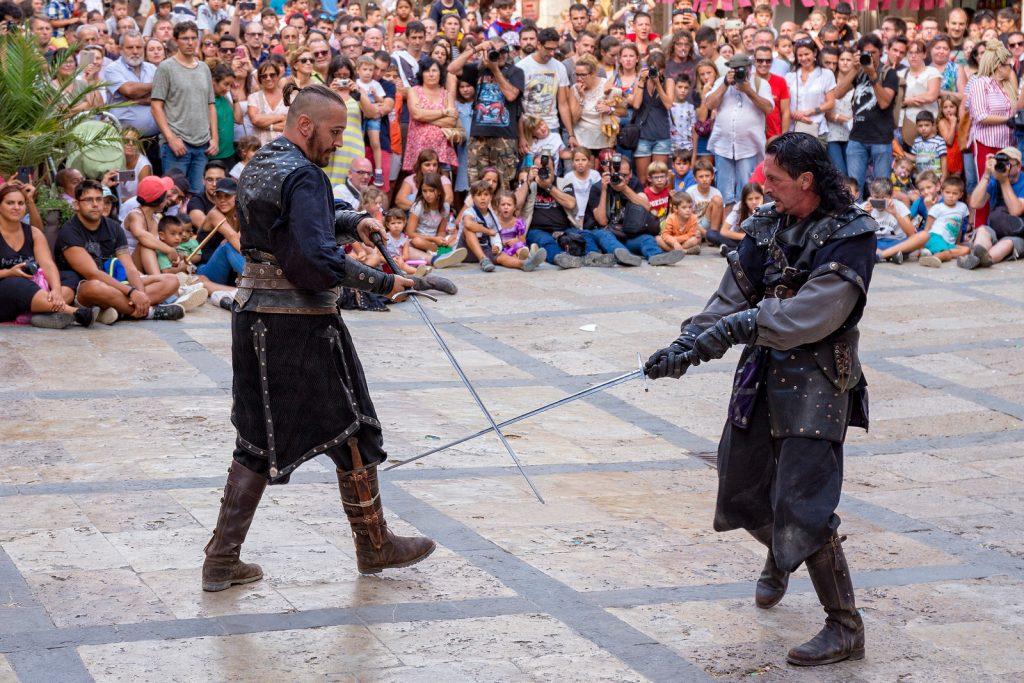 Средневековый праздник в Бесалу (Besalú Medieval) 2018