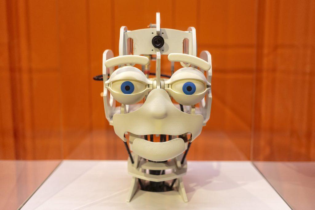 Экспозиция роботов в CosmoCaixa, Барселона