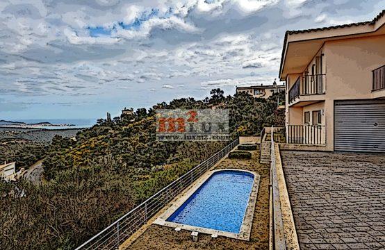 Casa amb vistes panoràmiques al mar, Platja d'Aro, Costa Brava