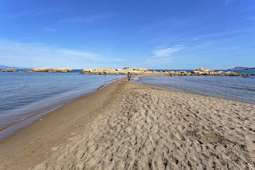 Sant Martí d'Empúries y sus playas