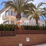 Villa elegante con vistas al mar en una urbanización prestigiosa, Lloret de Mar, Costa Brava.