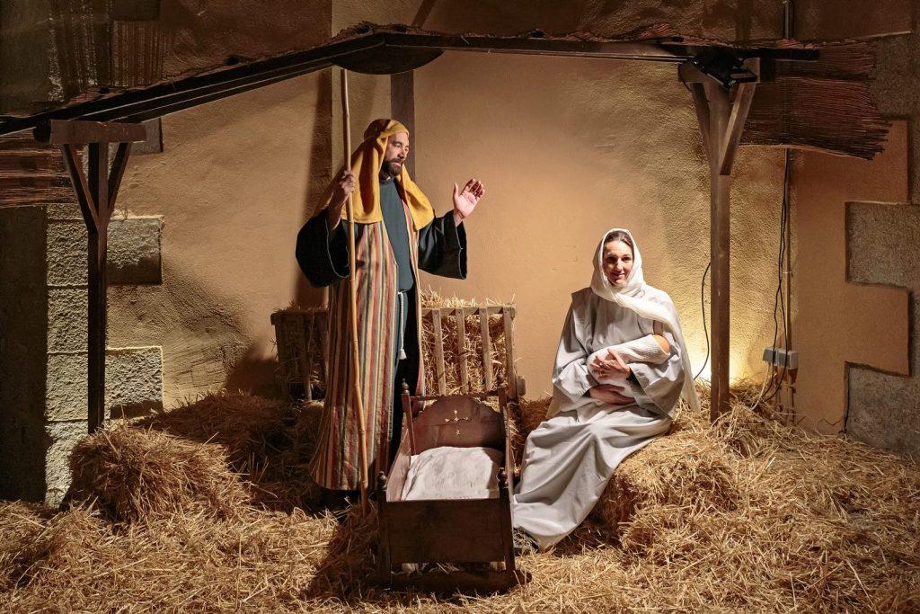 Рождественское представление в Калонже