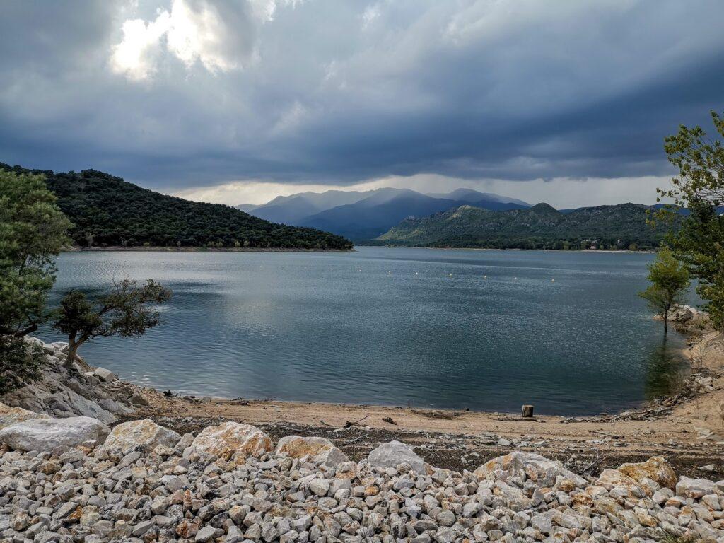 Водохранилище Дарниус Боаделья Reservoir Embalse Embassament Darnius Boadella