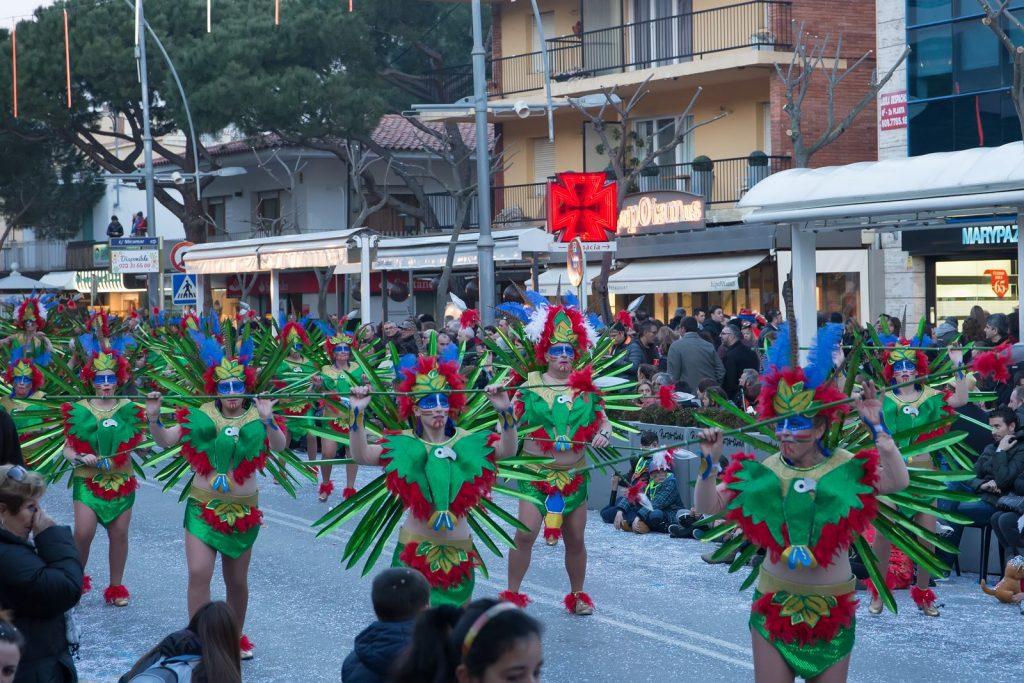Карнавал в Плайя де Аро 2015 Carnival in Playa dе Aro Carnaval Platja d'Aro