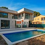 New villa 100 meters from the sea, Playa de Aro, Costa Brava, Spain.