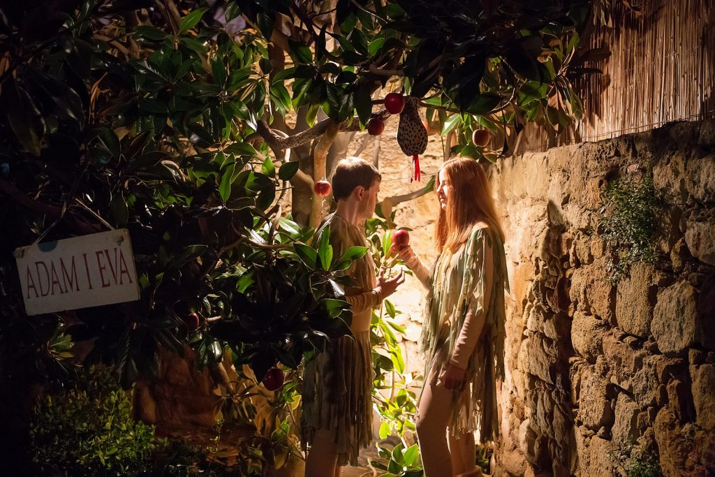 Рождественское представление в Пальсе.