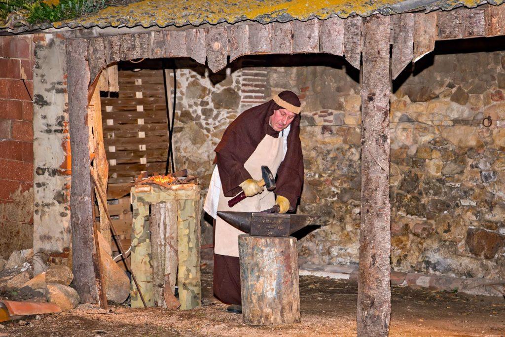 Рождественское представление в Кастель д'Аро.