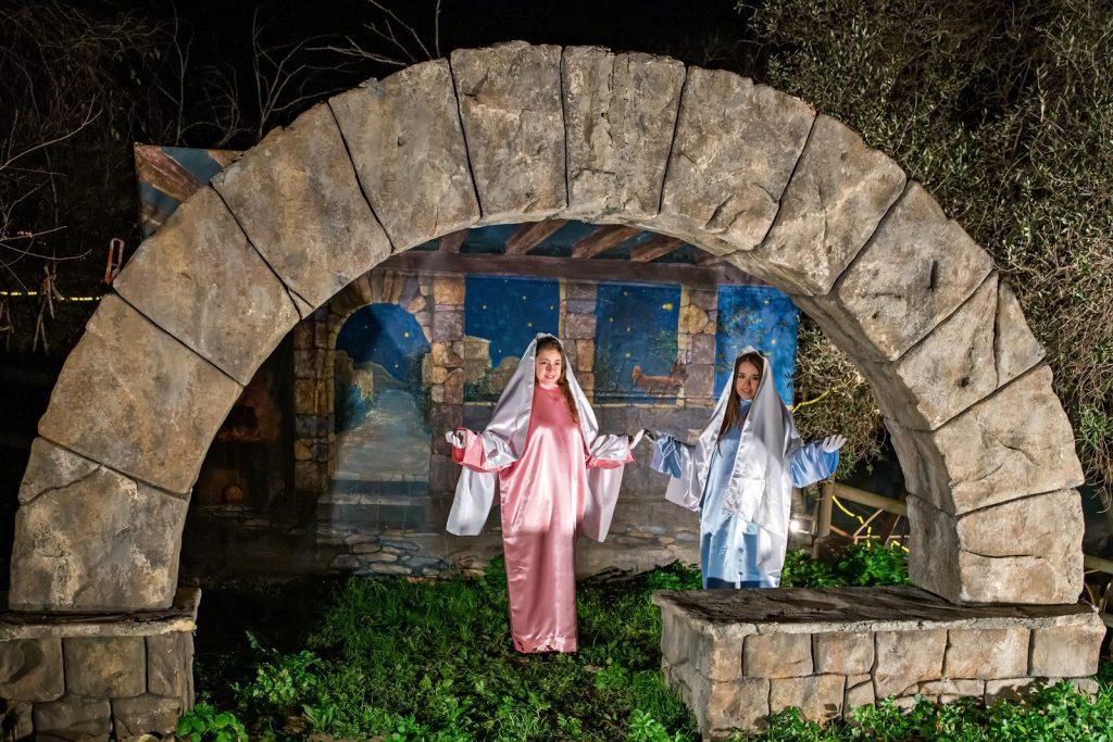 Рождественское представление в Кастель д'Аро
