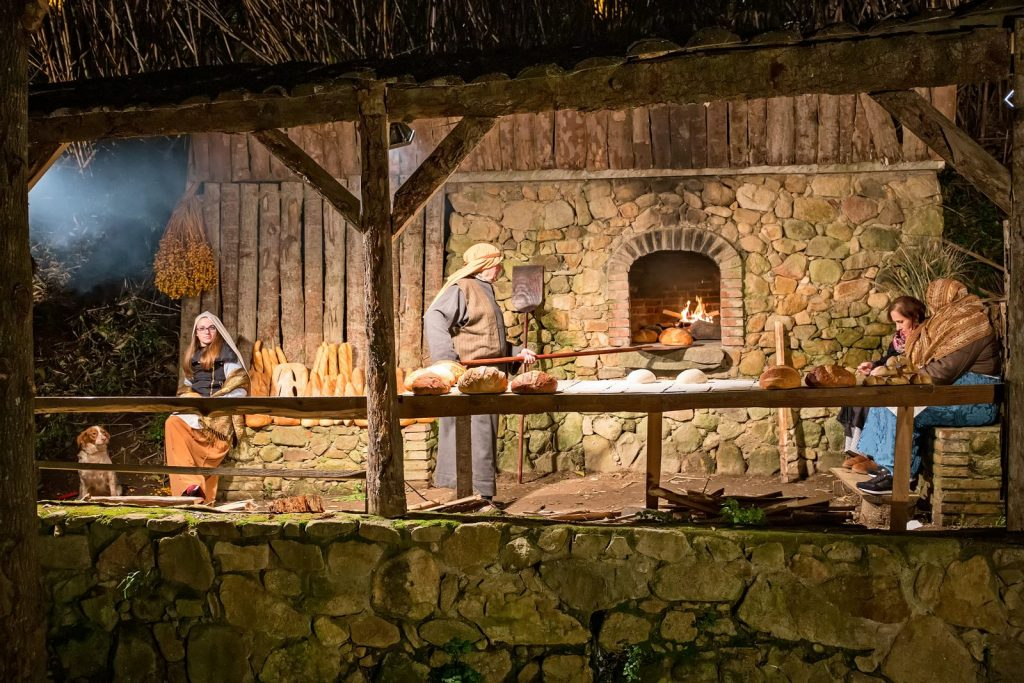 Live nativity scenes in Castell d'Aro.