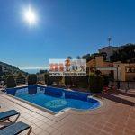 Maison pour 2 familles avec vue sur la mer à Tossa de Mar, Costa Brava, Espagne.