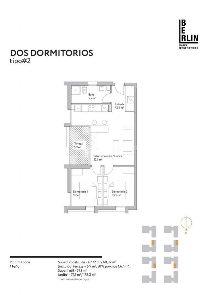 Floor plan Type 2