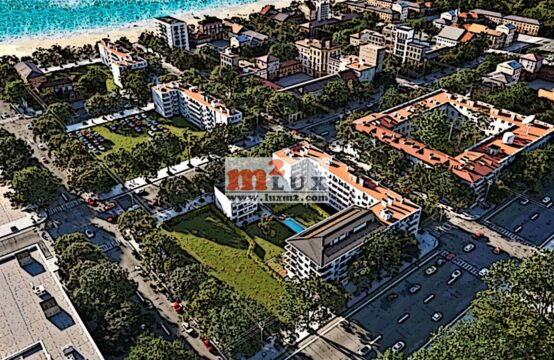 Apartments in a new residential complex in Pineda de Mar, Costa del Maresme, Spain.
