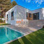 Nouvelle maison moderne avec 3 chambres à Santa Cristina de Aro, Costa Brava, Espagne.