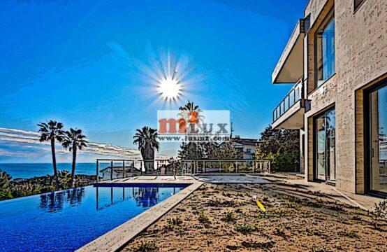 New villa with sea views in Lloret de Mar, Costa Brava, Spain.