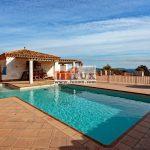 Lloguer d'estiu - àmplia casa amb vistes al mar a la urbanització Mas Nou, Platja d'Aro, Costa Brava.