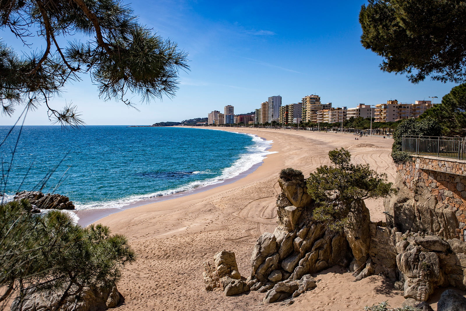 Playa de Aro, Catalonia