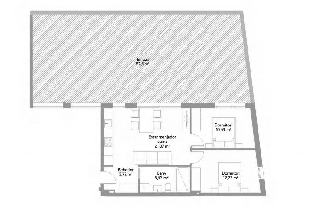 Квартиры с 2 спальнями в новом жилом доме, Плайя де Аро, Коста Брава, Испания.