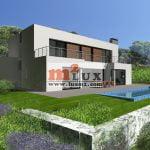 Nouvelle villa moderne avec 4 chambres à Playa de Aro, Costa Brava, Espagne.