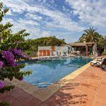 Acollidora casa de dues plantes amb vistes al mar a Platja d'Aro, Costa Brava.