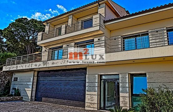 Casa moderna amb vista panoràmica sobre la mar, Platja d'Aro, Costa Brava.