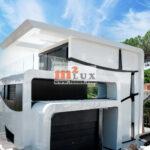 Современный дом с видом на море в Плайя де Аро, Коста Брава, Испания.